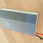 来年の手帳はコクヨ ジブン手帳B6スリムに決定。