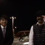コンサル生アンディーさんが岡山空港まで来てくれました