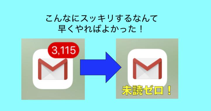 たまってしまったGメールの未読を一気にゼロにする方法