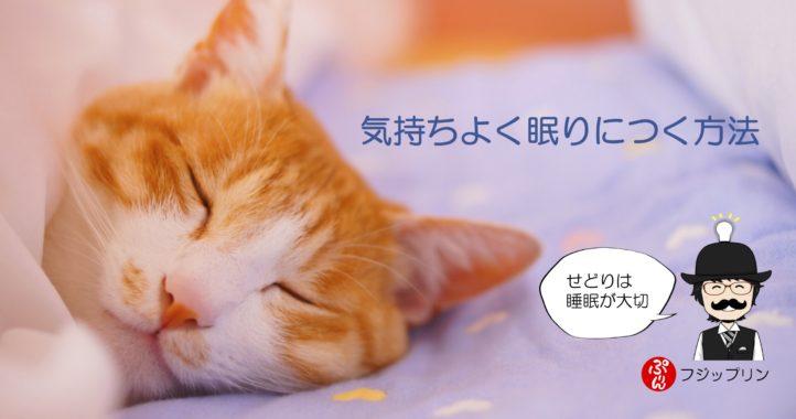最近やっている気持ちよく眠りにつく方法