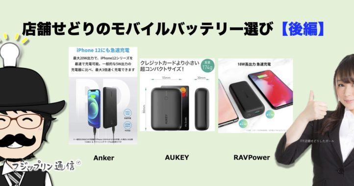 【後編】店舗せどりのモバイルバッテリー選び